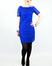 Soft VILA JOY Retro 60s Vintage Lace Dress
