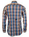 VIYELLA Retro Mod Button Down Madras Check Shirt B