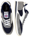 walsh la 84 retro made in england trainers grey