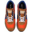 Voyager WALSH Made in England Retro Trainers O/W/B