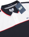 Batt WEEKEND OFFENDER Retro 1980s Panel Polo (N)