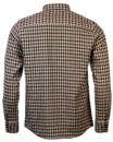 Quincy WEEKEND OFFENDER Retro Mod Tri-Check Shirt