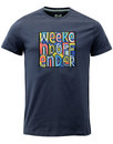 weekend offender mad cyril retro happy monday tee