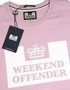 WEEKEND OFFENDER Retro Casuals Prison T-shirt (P)