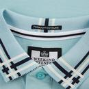 Rivera WEEKEND OFFENDER Mod Tipped Polo Top (C)