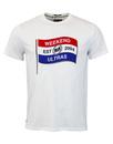 weekend offender white  tshirt  mod