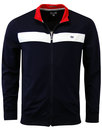 Ure WEEKEND OFFENDER Retro Funnel Neck Track Top
