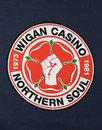 WIGAN CASINO Retro Mod Northern Soul Logo T-shirt