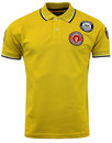 WIGAN CASINO Northern Soul Mod Multi Badged Polo G