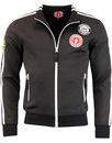 WIGAN CASINO Northern Soul Patch Track Top BLACK