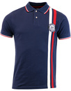 WIGAN CASINO Northern Soul Racing Stripe Polo
