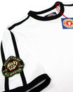 WIGAN CASINO Northern Soul Twin Stripe Patch Tee W