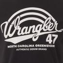 WRANGLER Americana Men's Retro 70s Tee (Graphite)