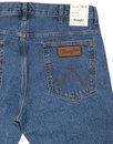 Boyton WRANGLER Tapered Stone Dyed Cotton Jeans