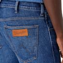 Bryson WRANGLER Mens Washed Skinny Jeans HARD EDGE