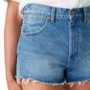 Festival WRANGLER Womens Denim Shorts - Tidal Wave