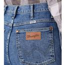 WRANGLER Womens Wild West High Rise Straight Jeans