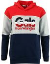 Kabel WRANGLER Women's 70's Block Colour Hoodie