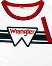 WRANGLER Women's Signature 70's Logo Ringer Tee W