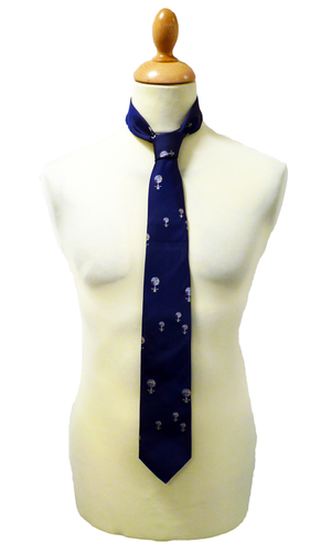 Schnabel 1 LIKE NO OTHER Retro Balloon Pattern Tie