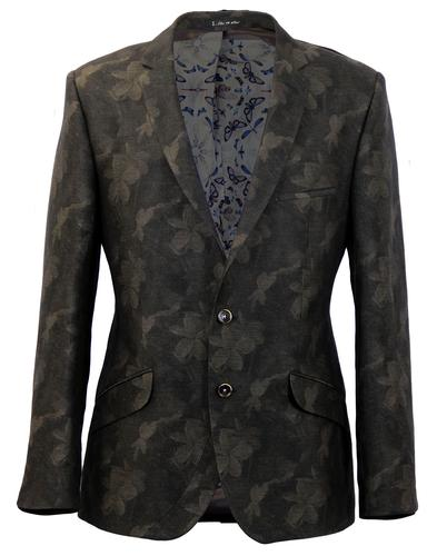 Remigium 1 LIKE NO OTHER Mod Floral Weave Blazer