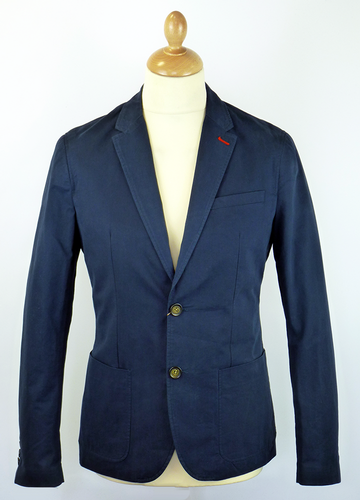 Patch Pocket ORIGINAL PENGUIN Retro Cotton Blazer