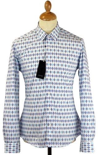 Orphism 1 LIKE NO OTHER 60s Mod Diamond Dot Shirt