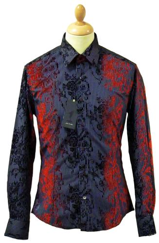 Red+pinstripe+shirt