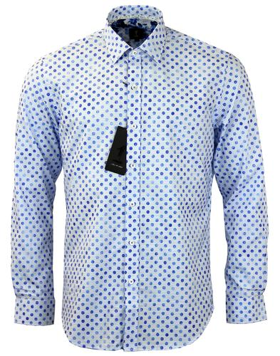 1 LIKE NO OTHER RETRO POLKA DOT SHIRT