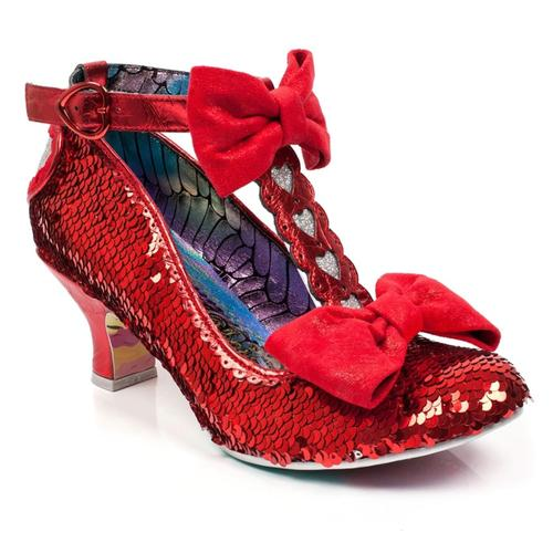Total Freedom IRREGULAR CHOICE Sequin Heels R/S