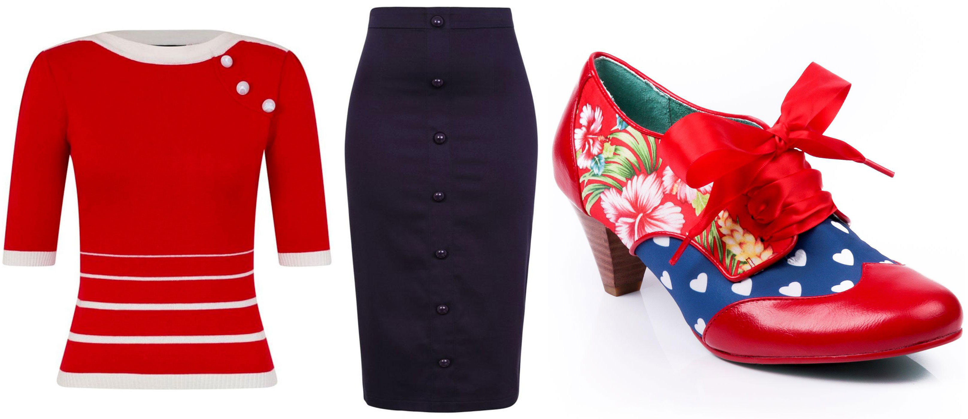 Collectif Armanda jumper with Bettina pencil skirt and Poetic Licence End of Story boots