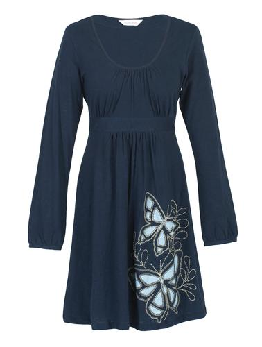 NOMADS RETRO 60s BOHO BUTTERFLY DRESS