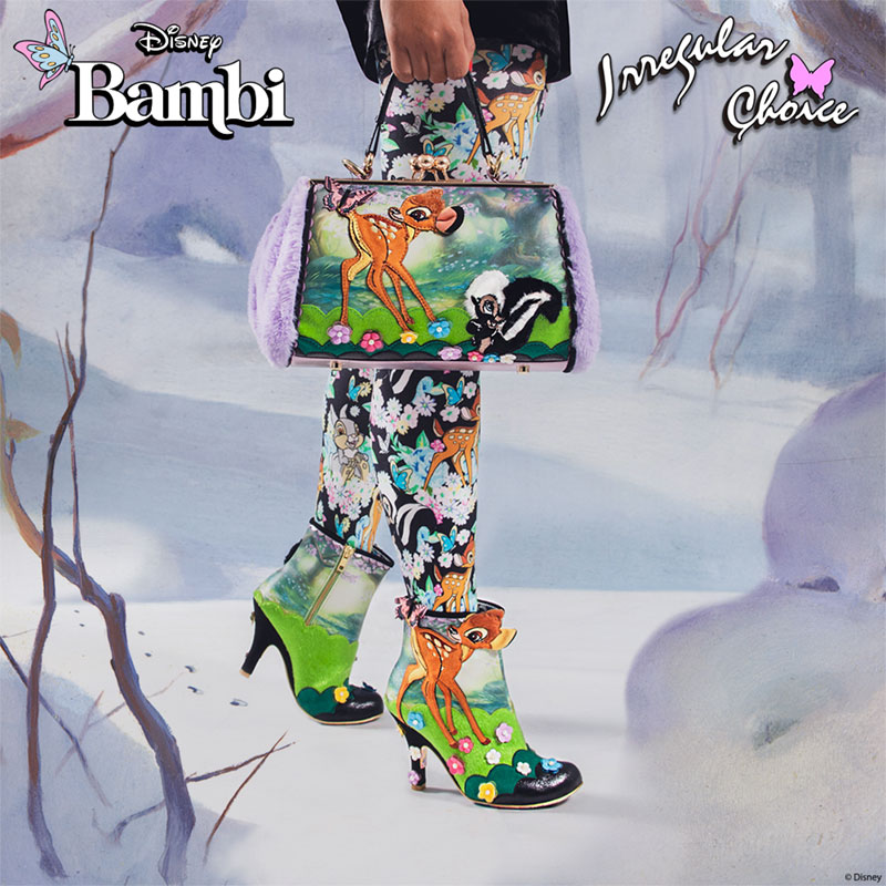 Irregular Choice x Disney's Bambi Woodland Playtime