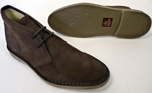 Alliance BARACUTA Retro Mens Mod Desert Boots (Br)