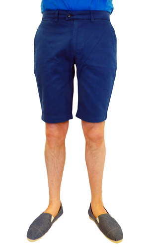 Chaplin BARACUTA Retro Mod Tailored Chino Shorts