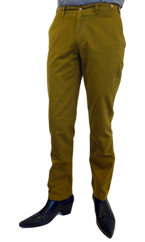 Lean BARACUTA Retro Mod Garment Dyed Chinos (C)
