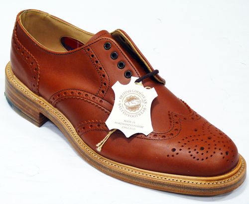 Derby Brogue BARACUTA Made in England Mod Shoes