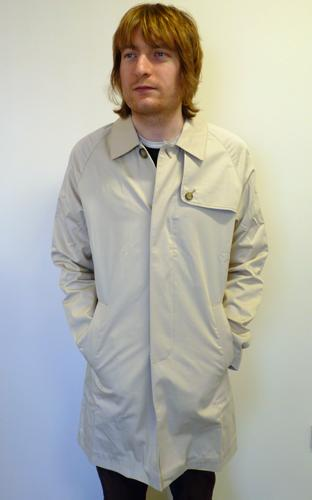 Ramsey Raincoat BARACUTA Retro Mod World Cup Coat