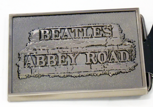 The Beatles 'Abbey Road' Retro Sixties Belt Buckle