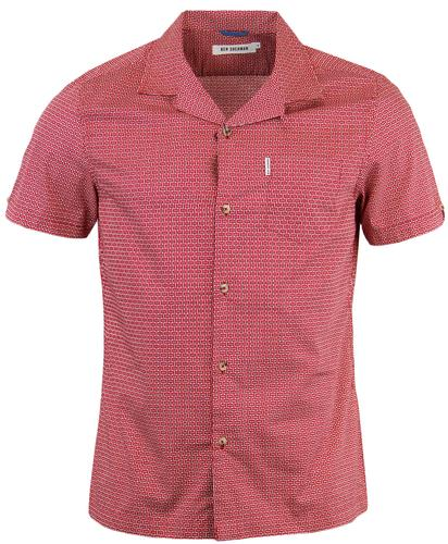 Ben-Sherman-Basket-Weave-Shirt-Red.jpg
