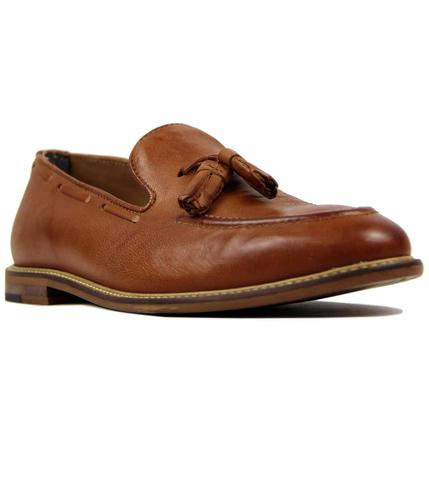 BEN SHERMAN ALFR CITY RETRO LOAFER COGNAC
