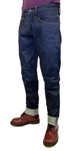 BEN SHERMAN 'Ramone' Mens Slim leg Selvedge Jeans