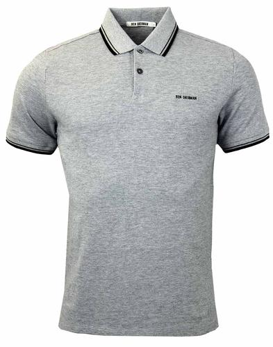 BEN SHERMAN BLOCK FRONT ROMFORD RETRO POLO