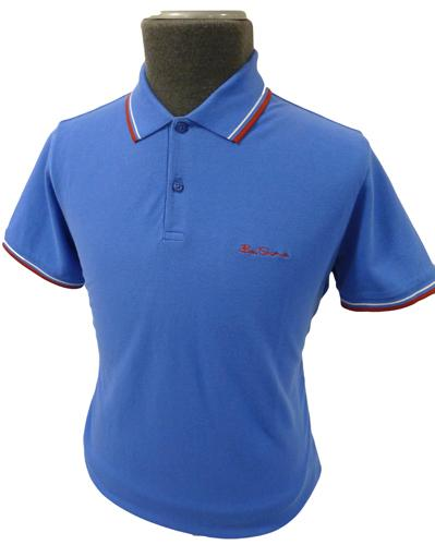 'Romford' - Retro Mod Ben Sherman Polo Shirt (NB)