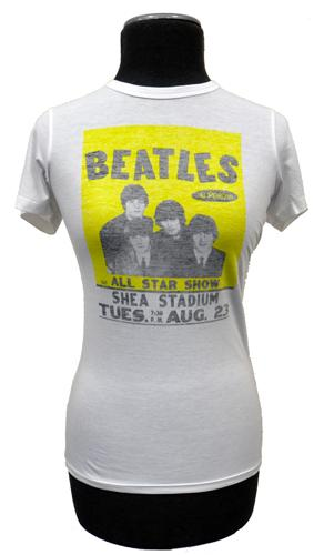 'Beatles Poster' - Sixties Tee by BEN SHERMAN (W)
