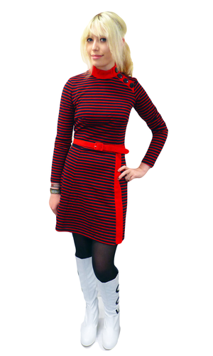 'Fever' - Retro Sixties Mod Dress by BETTIE PAGE