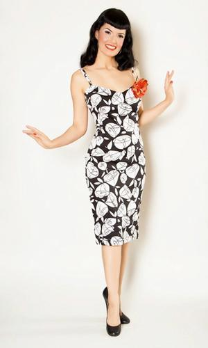 'Vanessa' - Retro Fifties Dress by BETTIE PAGE