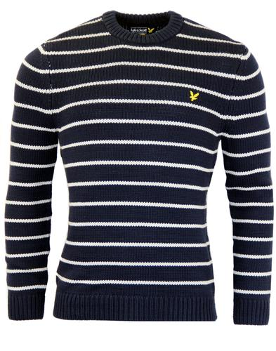Chunky Knit Pullover LYLE AND SCOTT Retro Mod