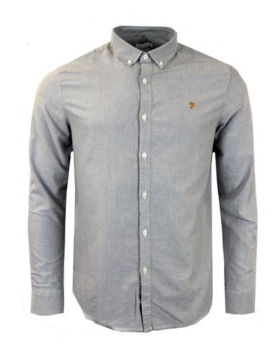 Brewer FARAH VINTAGE Retro Mod Oxford Shirt