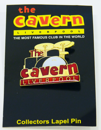 CAVERN CLUB RINGO DRUM KIT BADGE RETRO SIXTIES MOD